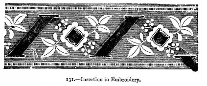 Insertion in Embroidery.