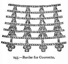 Border for Couvrette.