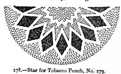 Star for Tobacco Pouch, No. 279.