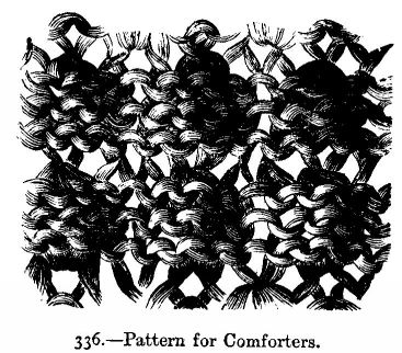 Pattern for Comforters.]