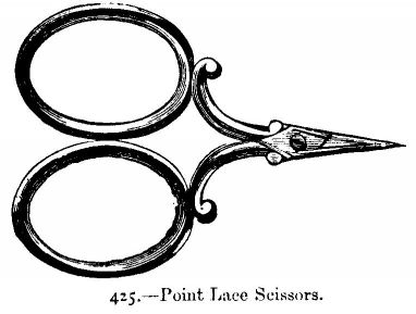 Point Lace Scissors.