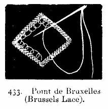 Point de Bruxelles (Brussels Lace).