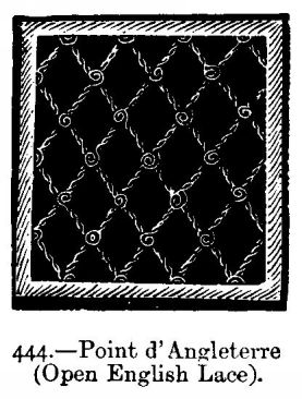 Point d'Angleterre (Open English Lace).