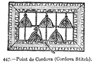 Point de Cordova (Cordova Stitch).