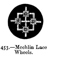 Mechlin Lace Wheels.