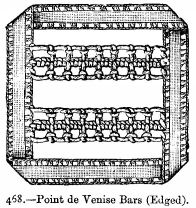 Point de Venise Bars (Edged).