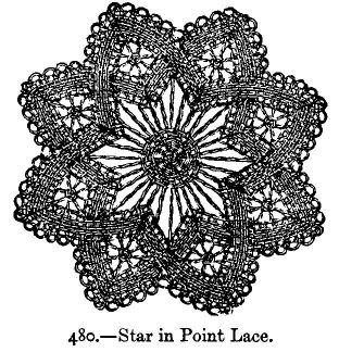Star in Point Lace.
