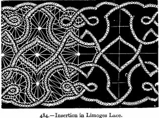 Insertion in Limoges Lace.]