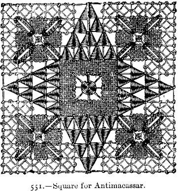 Square for Antimacassar.
